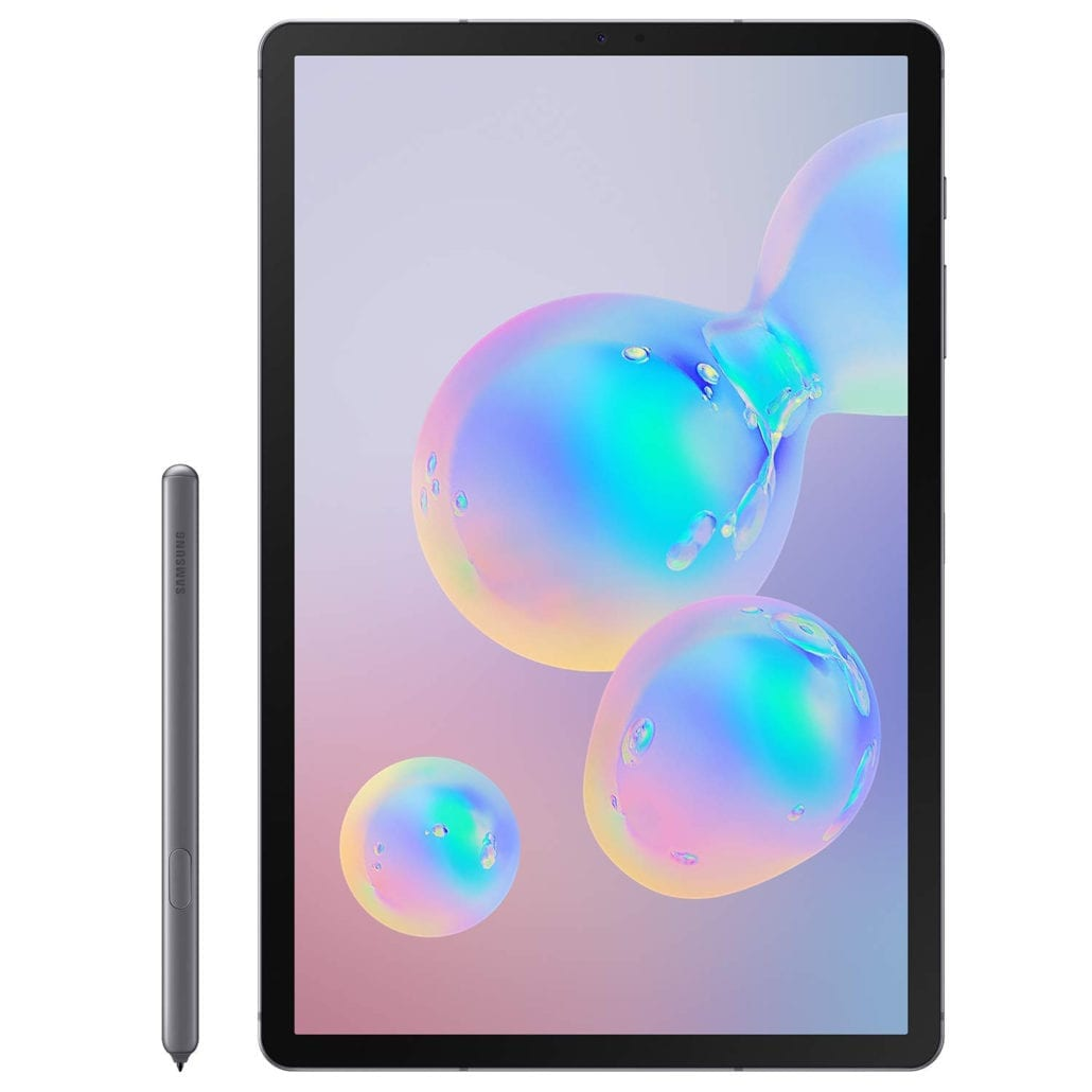 Samsung Galaxy Tab S6 front with pen