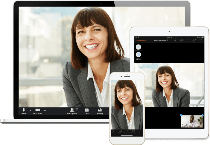 Zoom Conferencing Connect to clients